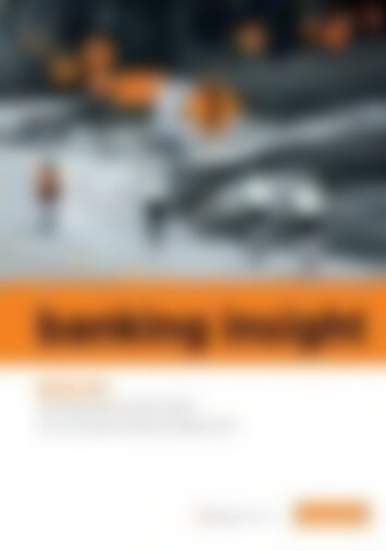 01 | 2014 banking insight