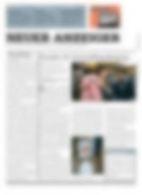 Neuer Anzeiger 29 Januar 2013