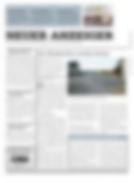 Neuer Anzeiger 7 Februar 2014