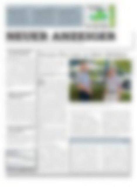 Neuer Anzeiger 18 Juli 2014