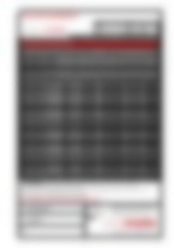 UNIGLAS PHON Schalldämmübersicht - Informationsblatt