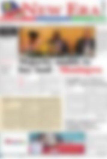 New Era Newspaper Thursday September 28, 2017