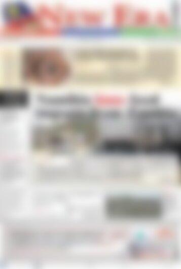 New Era Newspaper Wednesday January 10, 2018