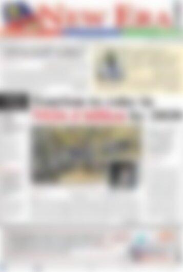 New Era Newspaper Wednesday January 24, 2018