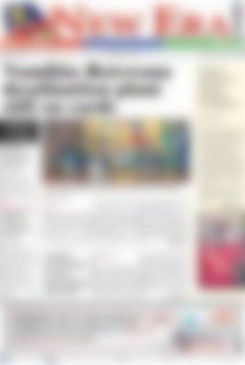 New Era Newspaper Tuesday, February 6, 2018