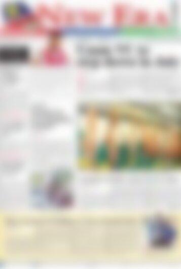 New Era Newspaper Thursday February 15, 2018