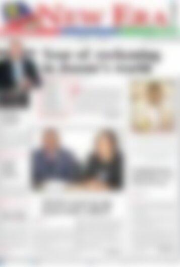 New Era Newspaper Wednesday February 28, 2018