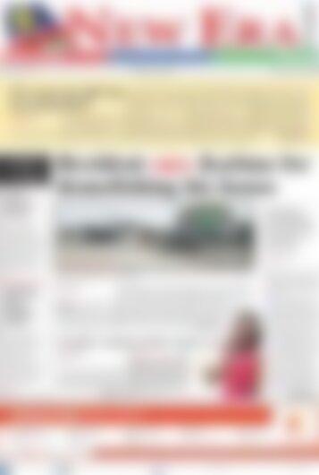 New Era Newspaper Friday March 9, 2018