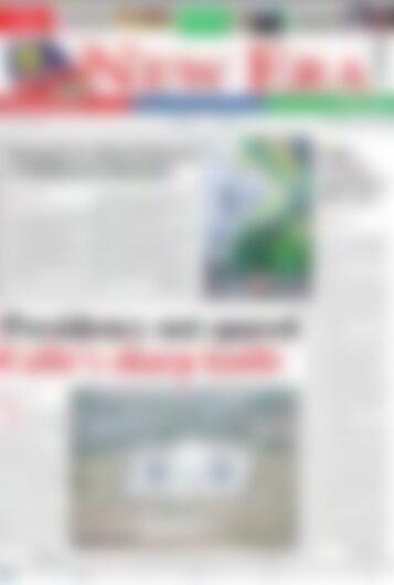 New Era Newspaper Wednesday April 11, 2018