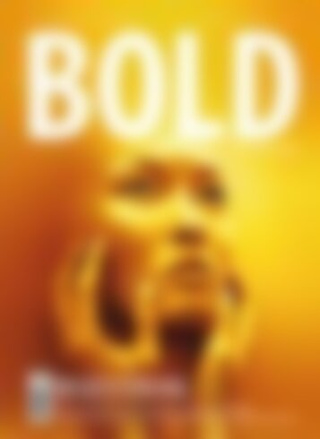 BOLD THE MAGAZINE No.05