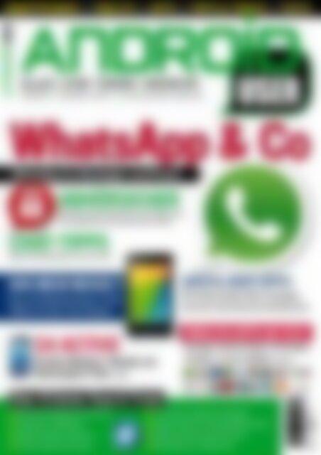 Android User WhatsApp & Co (Vorschau)