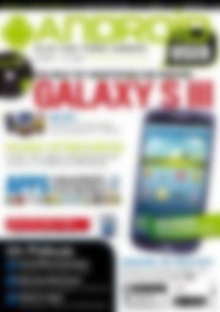Android User Galaxy SIII (Vorschau)