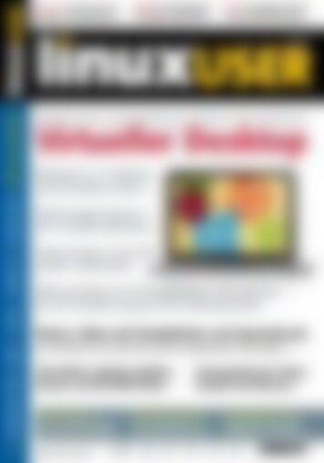 LinuxUser Virtueller Desktop (Vorschau)