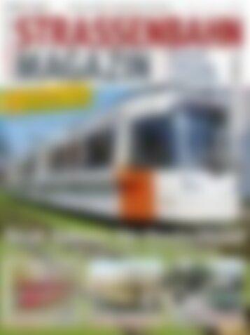 STRASSENBAHN MAGAZIN Neue Bahnen für Deutschland (Vorschau)