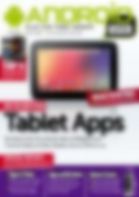 Android User Tablet Apps (Vorschau)