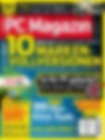 PC Magazin Classic XXL 10 Marken-Vollversionen (Vorschau)