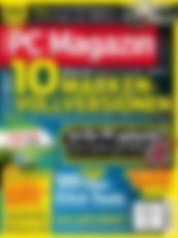 PC Magazin Premium XXL 10 Marken-Vollversionen (Vorschau)