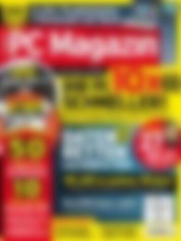 PC Magazin Premium XXL Ihr PC 10x schneller! (Vorschau)