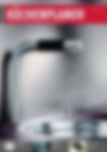 Küchenplaner Spülcenter-Heißwasser-Armaturen im Systemvergleich (Vorschau)