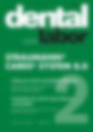 das dental labor Straumann Cares System 8.0 (Vorschau)