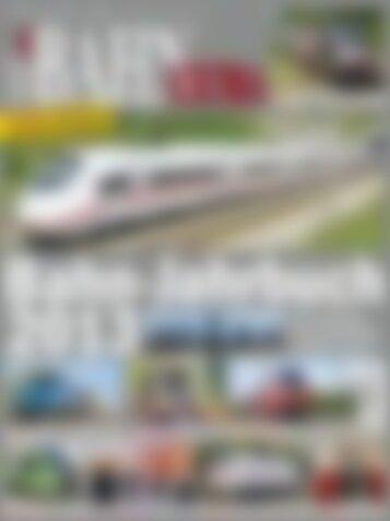 BAHN EXTRA Bahn-Jahrbuch 2013 (Vorschau)