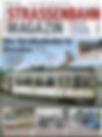 STRASSENBAHN MAGAZIN Sie Straßenbahn in Dresden (Vorschau)