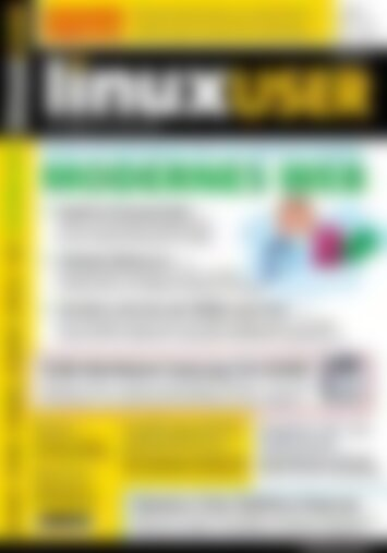 LinuxUser Modernes Web (Vorschau)