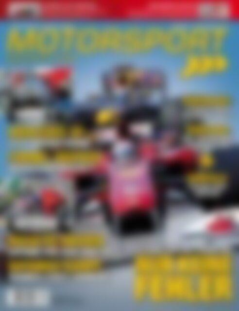Motorsport Magazin ALONSO - VETTEL - HAMILTON nur keine Fehler (Vorschau)