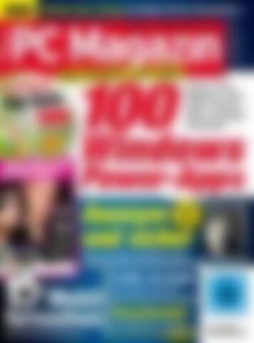 PC Magazin Classic XXL 100 Windows Power-Apps (Vorschau)