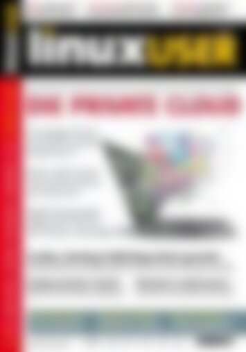 LinuxUser Die private Cloud (Vorschau)