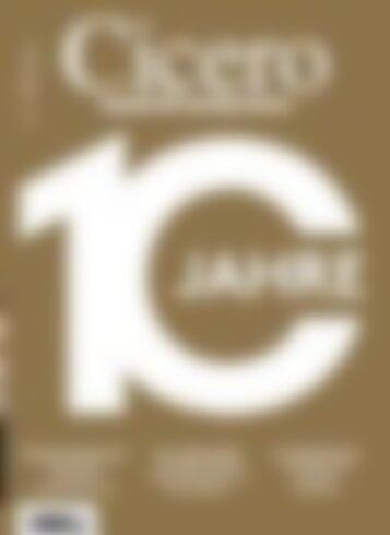 Cicero 10 Jahre (Vorschau)