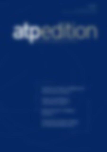 atp edition Industrie 4.0 ohne modellbasierte Softwareentwicklung (Vorschau)