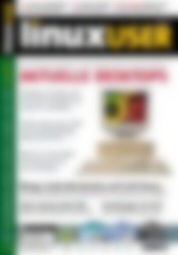 LinuxUser Aktuelle Desktops (Vorschau)