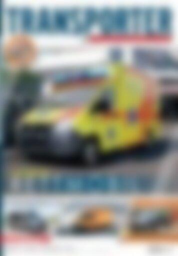 TRANSPORTER Fachmesse: Rettmobil (Vorschau)