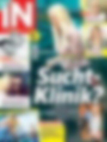 IN - DAS STAR & STYLE MAGAZIN (digital) Jenny Elvers - Zurück in die Sucht-Klinik? (Vorschau)