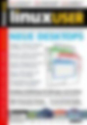 LinuxUser Neue Desktops (Vorschau)