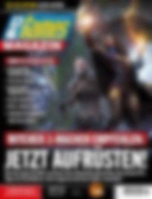 PC Games Magazin Witcher 3-Macher empfehlen: Jetzt aufrüsten! (Vorschau)