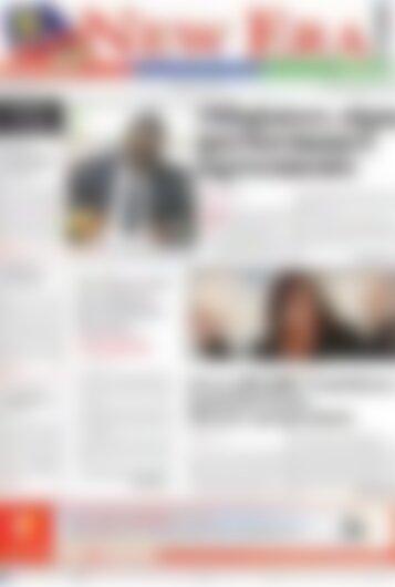 New Era Newspaper Monday September 4, 2017