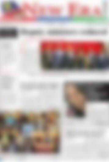 New Era Newspaper Wednesday February 14, 2018