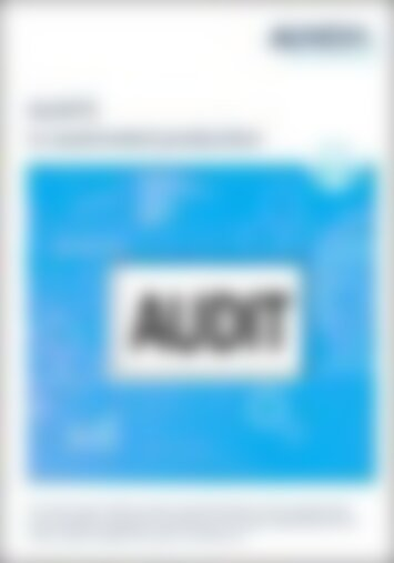 White paper - Audit in automated production