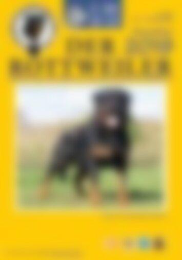 Der Rottweiler - Ausgabe November 2019